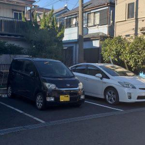 一ノ割駐車場の写真