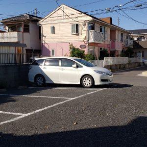 ハイガーデン駐車場の写真
