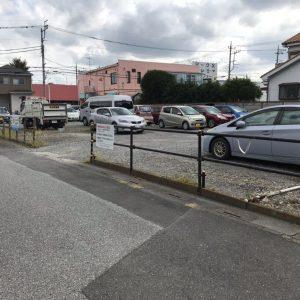 岡井第一駐車場の写真
