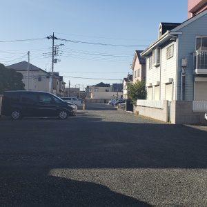 菊池内科医院駐車場の写真